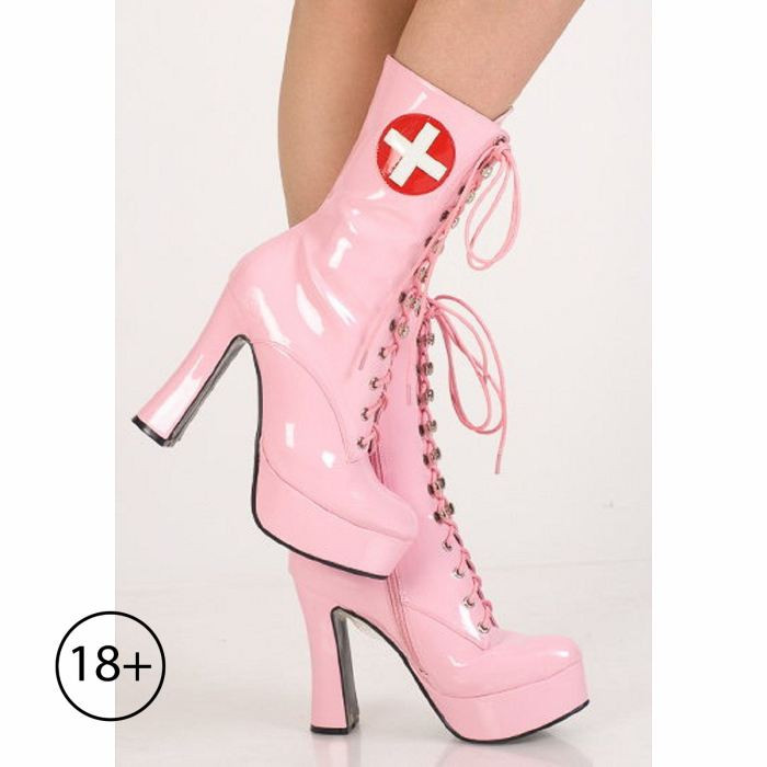 Сапоги медсестры, 36 размер, розовые