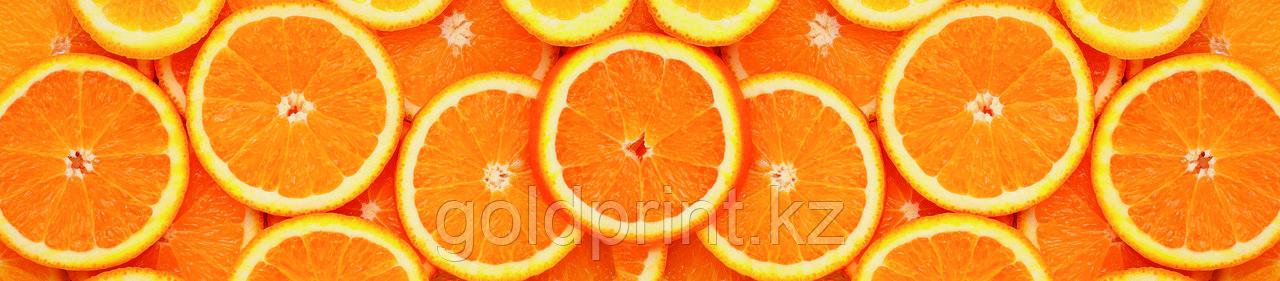 Кухонный фартук УФ  Апельсины