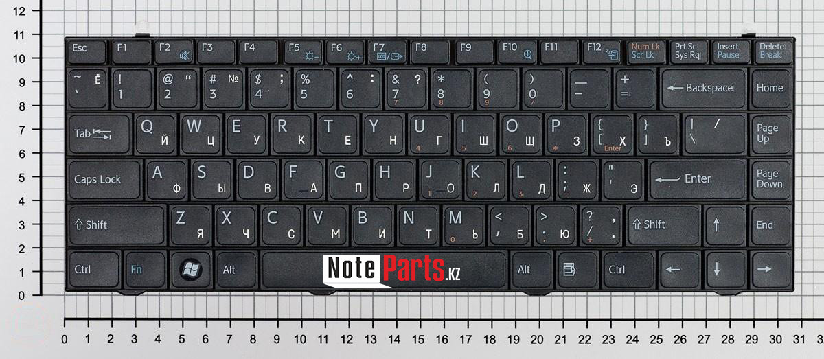 Клавиатура для ноутбука Sony Vaio VGN-FZ / VGNFZ