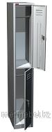 Односекционный металлический шкаф для одежды ШРМ-12, 2 отделения, фото 1