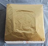 Поталь для золочения в листах 14/14 см 25 листов на аллюминиевой основе