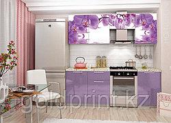 УФ Печать на Кухонных гарнитурах Цветы