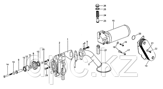 Маслоприёмник Weichai WD615 Евро-3  VG1800070051