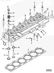 Седло клапана впускного Cummins CGE280 GAS PLUS 3927256