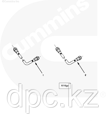 Трубка топливная Cummins ISX QSX 4907227 3682566