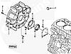 Сальник коленвала задний двигателя Cummins A2300 4901231 4900906 4900287, фото 5