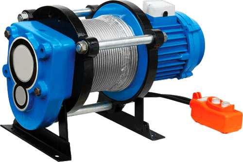 Лебёдка электрическая KCD 500кг/70м (380В)