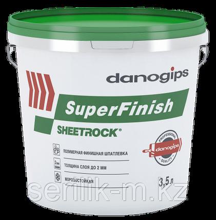 Унив. гот. шпатлевка SHEETROCK SuperFinish (СуперФиниш) 3.5Л, фото 2
