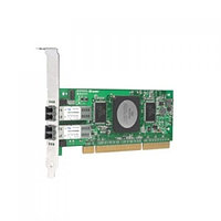 QLA2342-CK Qlogic FCA2214DC QLA2342-CK FC5010411-37 2x2Гбит/сек Dual Port Fiber Channel HBA LP PCI-X