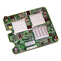 416583-001 Сетевая Карта HP NC325M Multifunction Gigabit Server Adapter Mezzanine Card 2xBroadcom 5715S 4x1Гбит/сек PCI-E For c-Class BladeSystem