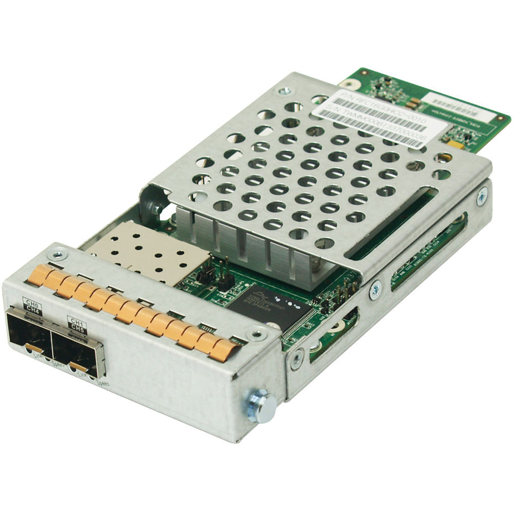RFC16G0HIO2-0010 EonStor / EonStor DS / EonNAS 3000-1/EonNAS 1000-1 host board with 2 x 16Gb FC ports