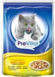 PreVital Pouch Cat Classic 100 г Пауч для кошек, желе Курица