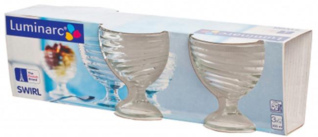 Набор креманок  Luminarc Свирл 300 мл 3 шт