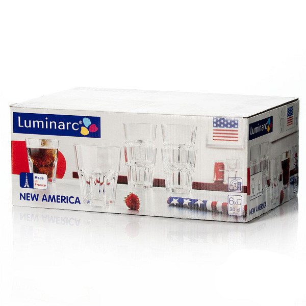 Набор стаканов Luminarc New America 270 мл 6 шт