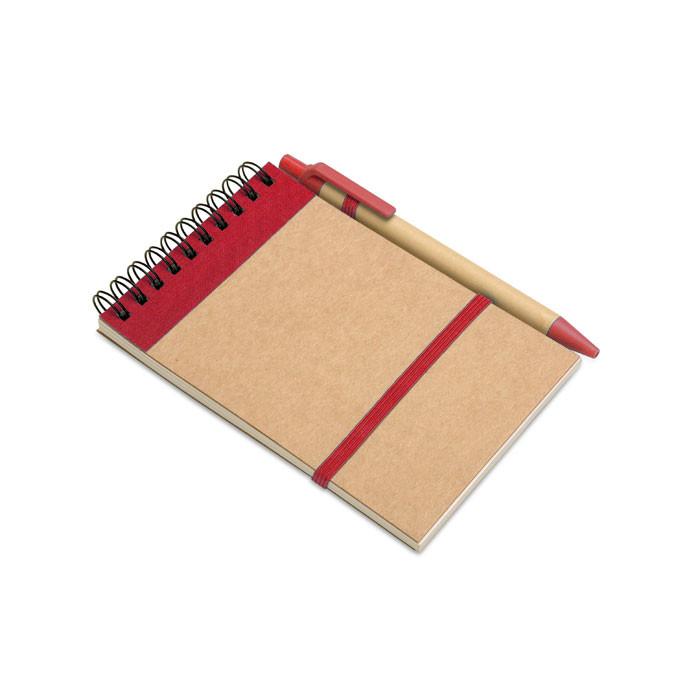 Карманный блокнот с ручкой