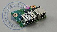 USB плата, порт, разъем питания LG4858 48.4SG02.011 11812-1 LENOVO G580 (глянцевый)