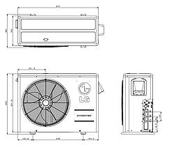 Наружный блок LG Multi FDX: FM57AH, фото 3