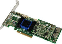 Adaptec ASR-6805E (PCI-E v2 x4, LP) SGL SAS 6G, RAID 0,1,10,1E, 8port(int2*SFF8087), 128Mb onboard