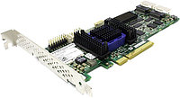 Adaptec ASR-6805 (PCI-E v2 x8, LP) KIT SAS 6G, RAID 0,1,10,5,6,50,8port(int2*SFF8087), 512Mb onboard