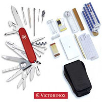 Нож VICTORINOX Мод. SWISSCHAMP SOS-SET (91мм) - 47 функций