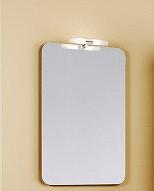 Аликанте 55 панель с зеркалом и светильником, 50 см