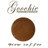 Кремовый пигмент Brown coffee для микроблейдинга