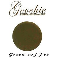 Кремовый пигмент Green coffee для микроблейдинга