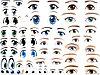 """Наклейки глаза разные для фигур из шаров  - Студия подарков """"ИЗЮМИНКА"""" в Павлодаре"""