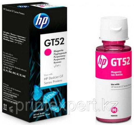 HP M0H55AE HP GT52 Magenta Original Ink Bottle  for DJ GT5810/5820 , up to 8000 pages ;, фото 2