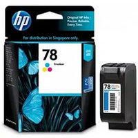HP C6578D Tri-color Inkjet Print Cartridge №78 for DJ930/950/970/1220/PS1215/1315/1280, 19 ml, up to 560 pages