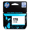 HP CB317HE Photo Black Ink Cartridge №178 for PhotoSmart C6383/8553/D5463/C5383, up to 250 pages. ;