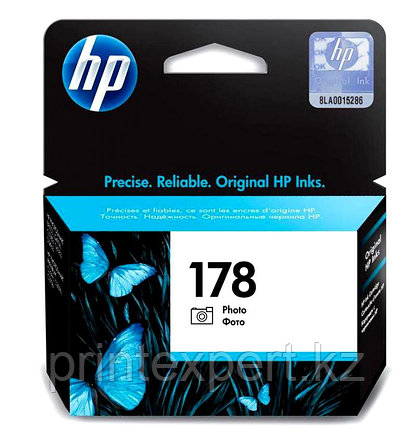 HP CB317HE Photo Black Ink Cartridge №178 for PhotoSmart C6383/8553/D5463/C5383, up to 250 pages. ;, фото 2