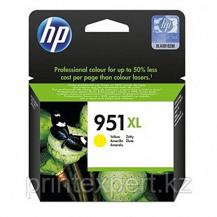 HP CN048AE Yellow Ink Cartridge №951XL for Officejet Pro 8100 ePrinter /Officejet Pro 8600 e-All-in-One, up to, фото 2