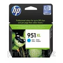 HP CN046AE Cyan Ink Cartridge №951XL for Officejet Pro 8100 ePrinter /Officejet Pro 8600 e-All-in-One, up to 1