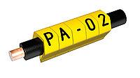 "Маркировка для провода PARTEX PA 02, размер 0,2-1,5мм2 ""А"""