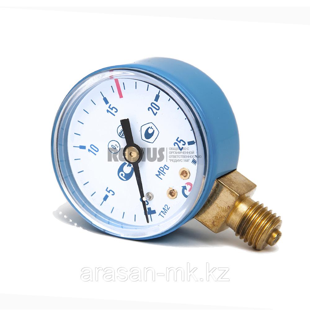 Манометр 25,0 МПа (Кислород)