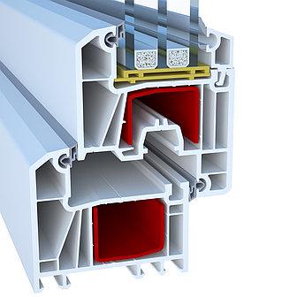 Профиль для производства пластиковых конструкций  Deceuninck Enwin Omega 70 (Декенинк Энвин Омега 70)