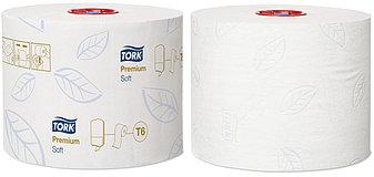 Tork туалетная бумага Mid-size в миди рулонах мягкая 127520, фото 2