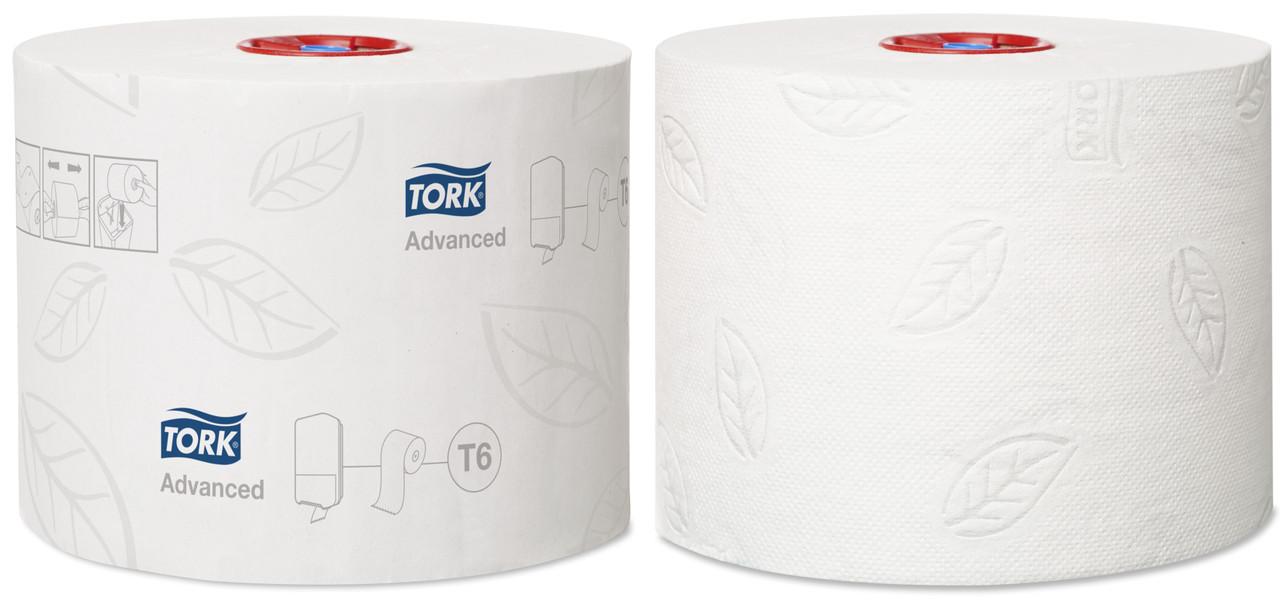 Tork туалетная бумага Mid-size в миди рулонах 127530/1