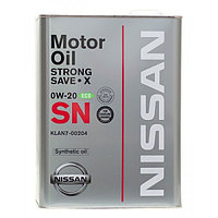 Nissan Strong Save X 0W20