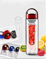 Tritan Plastic Fruit Juicer BPA Free Bottle 700ml / С РУЧКОЙ