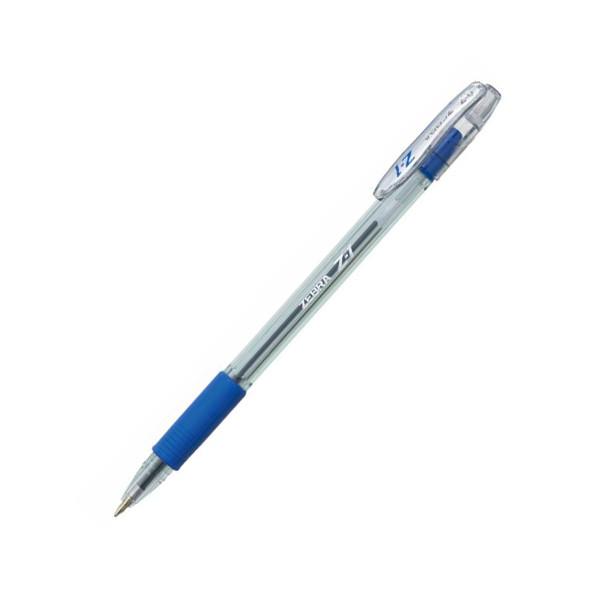 Ручка шариковая ZEBRA Z-1 0,7мм, синяя