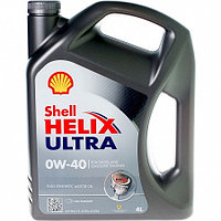 Моторное масло SHELL HELIX ULTRA 0W-40 4л.