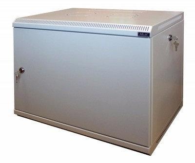 Шкаф настенный МиК 6U, 600*600*360, KEYS, серый, дверь-металл, фото 2