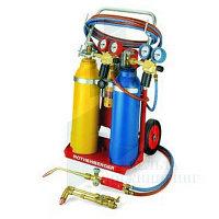 Универсальный набор (тройной газ) Rothenberger RE17 AMS 5/5 передвижной, без ацетилена и кислорода