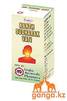 Кантх Судхарак Вати - таблетки от кашля (Kanth Sudharak Vati UNJHA), 10 гр