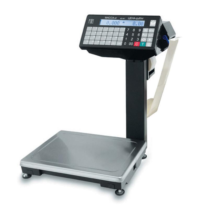 Весы с печатью этикеток Масса-К ВПМ-15.2-Ф1