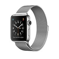 Apple Watch 42mm Stainless Steel Case with Milanese