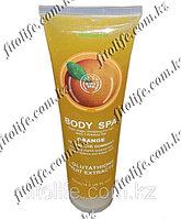 "Отшелушивающий гель для тела ""Body Spa"", апельсин"