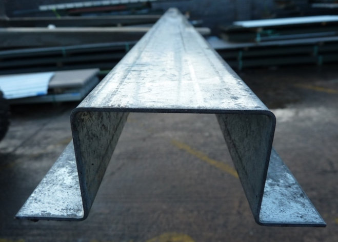 Профиль корытный 80х40х40х3 мм ст.08кп, фото 2